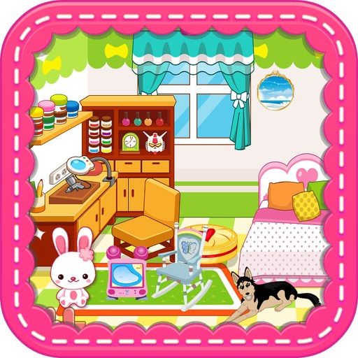 Princess Bedroom Girls Room Decoration Games By Yanwei Han