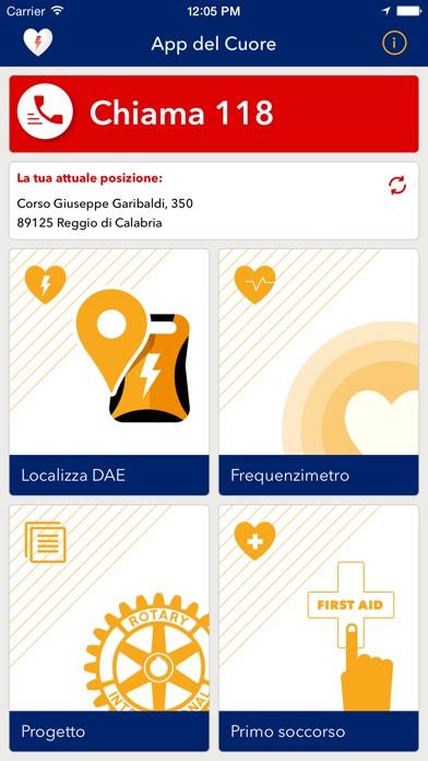App del Cuore Screenshot