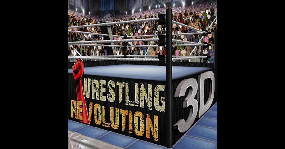 Wrestling Revolution D Exhibition : Wrestling revolution d on the app store