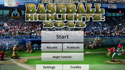 Baseball Highlights 2045 Screenshot