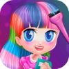 My Rainbow Hairstyles - Colorful Change/Makeup Game For Girls