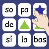 Sopa de Sílabas - A brain game with a word puzzle and memory game inside in Spanish