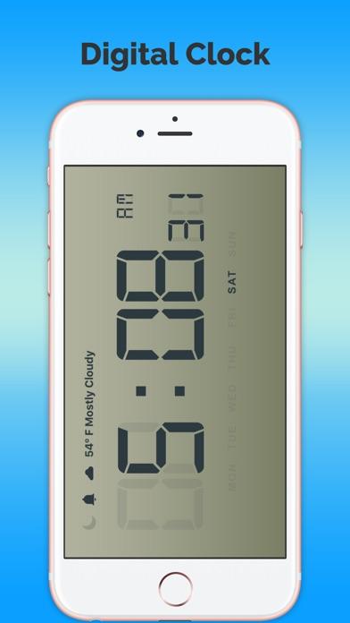Цифровые часы-ПрогнозСкриншоты 2