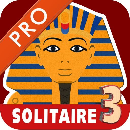 Pyramid Tri-Peaks Solitaire Golden Pharoahs Card Party of Egypt Pro iOS App
