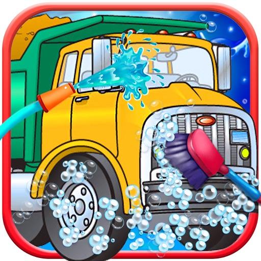 Truck Garage - Mechanic Simulator Games Parking, Salon & Spa for Kids Free iOS App