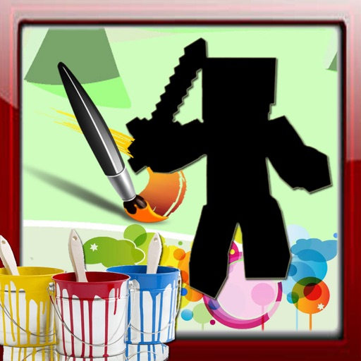 Paint For Kids Games Minecraft Edition iOS App