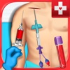 Blood Draw Injection Surgeon - Central, PICC Line, and IV Nurse & Doctor Simulator