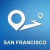 San Francisco, CA Offline GPS Navigation & Maps