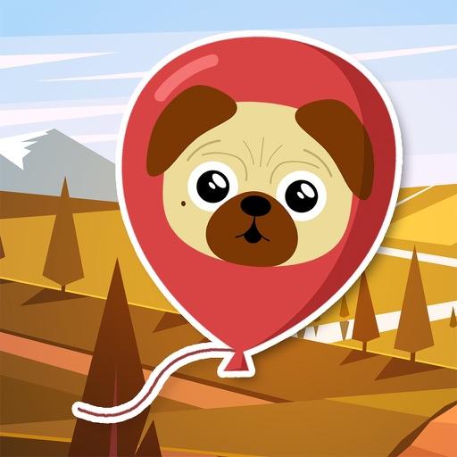 PugPop by the Batpug iOS App
