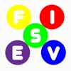 Fives: Colorful Free free search spell