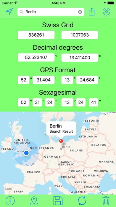 download Swiss Grid Outil Coordonnées apps 0