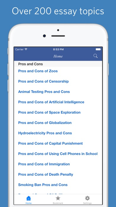 essay writing materials on the app store iphone screenshot 1