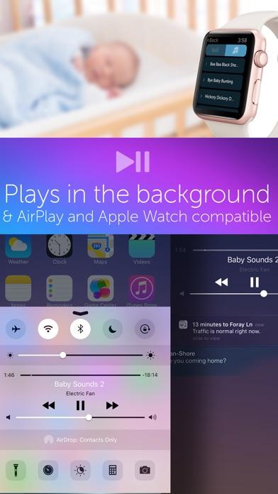 download Ruidos Blancos - Sonidos para el relax del bebe y ayuda para dormir bebes apps 0