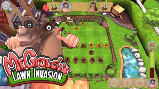 Mr. Grouch's Lawn Invasion Screenshot