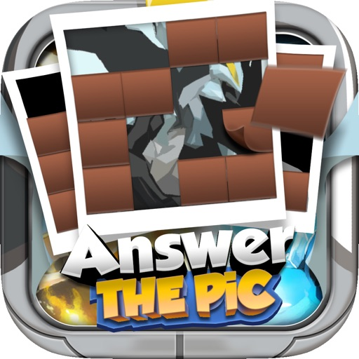 "Answer Puzzle Game Pro ""for Pokemon Black & White"" Icon"