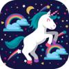 Unicornio Fondo De Pantalla Hd - Fondos De Fantasía Y Temas Personalizados Pantalla De Bloqueo Magia