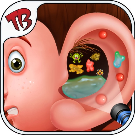 Ear surgery - Dr Care & Clean your Super Dirty Ear Its Fun treatment Game iOS App