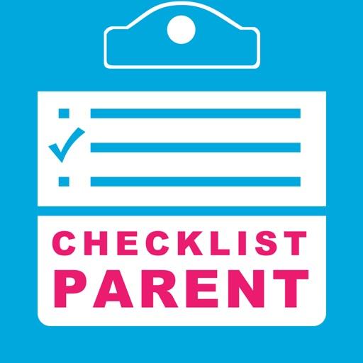 Checklist Parent - Mom and Dad Family Calendar Planner and To Do Check Lists iOS App