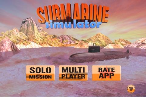 Submarine Sim-ulator MMO FPS - Naval Fleet War-ship Battles screenshot 1
