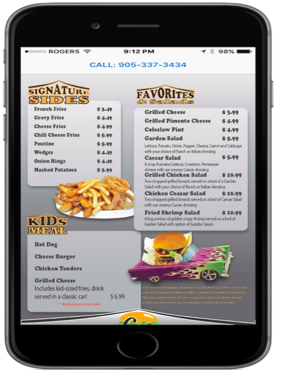Gazebo Burgers And Grill On The App Store