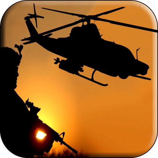 Ultimate Helicopter Battle Fight - Gunship Combat iOS App