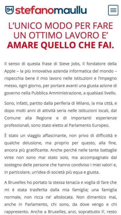 Screenshot of Stefano Maullu2