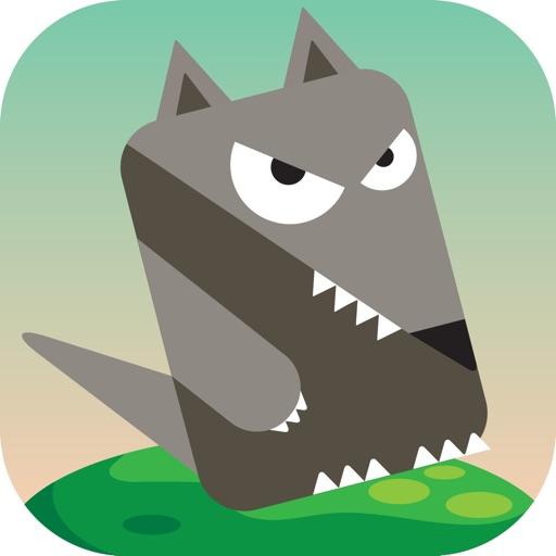 Blocky Rabbit Jumping iOS App