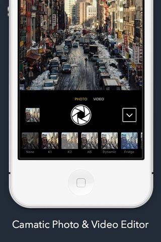 Camatic - FREE Photo & Video Editor screenshot 1