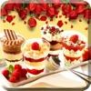 甜点食谱大全-专业的蛋糕面包饼干烘焙助手