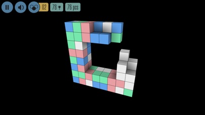 Screenshot do app Sea of Squares