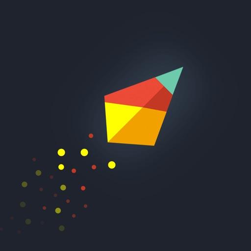 Symmetrica - Minimalistic arcade game