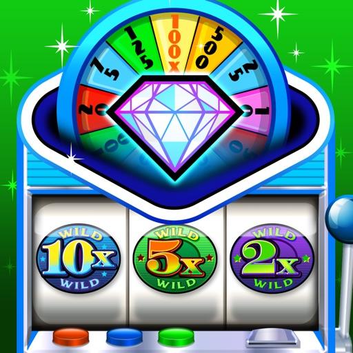 Lucky Wheel Slots - Free Multi-Line Casino Slot Machine Games iOS App