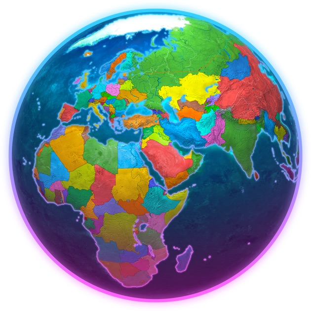 Earth 3D Amazing Atlas on the