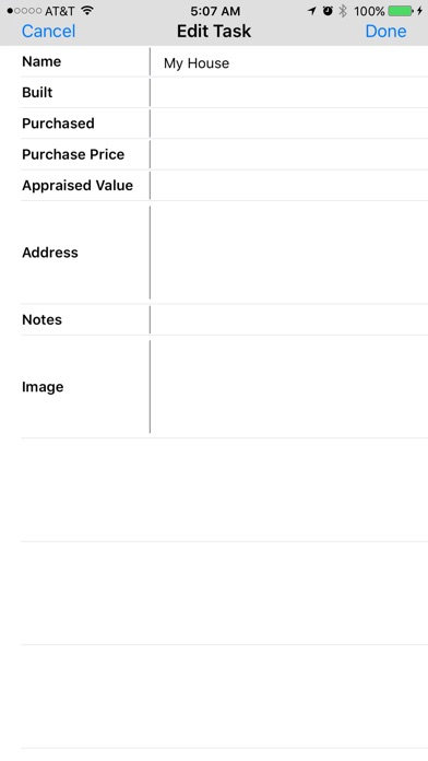 Home Maintenance Log on the App Store