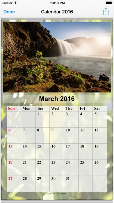Calendar Maker - Create Photo Calendar as PDF on the App Store