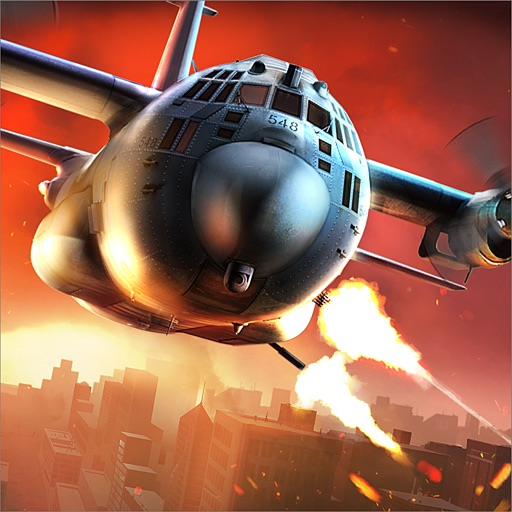 Zombie Gunship Survival app for ipad