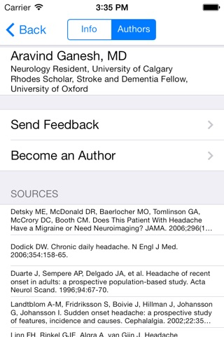 SnapDx Clinical - Evidence-Based Physical Exam and Bedside Assessments screenshot 4