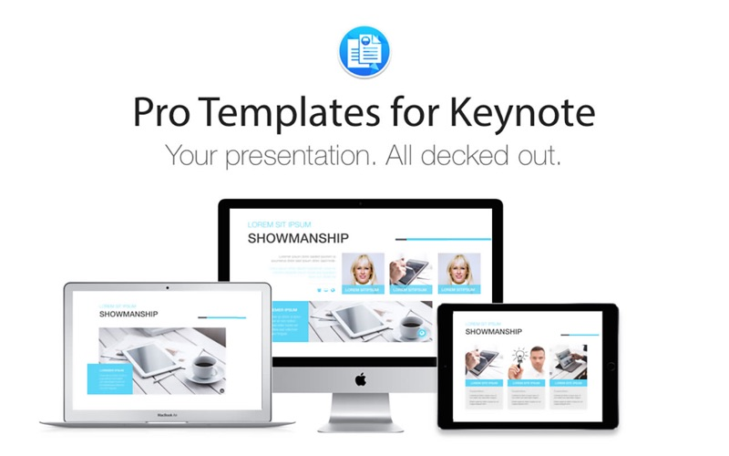Pro templates for keynote on the mac app store for App store screenshot template