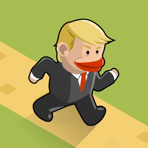 Way for TRUMP ~ Running away iOS App