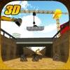 Bridge Builder Constructor Crane Operator 3D Simulator
