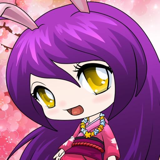 Anime Avatar Girls Free Dress Up Games For Kids IOS App