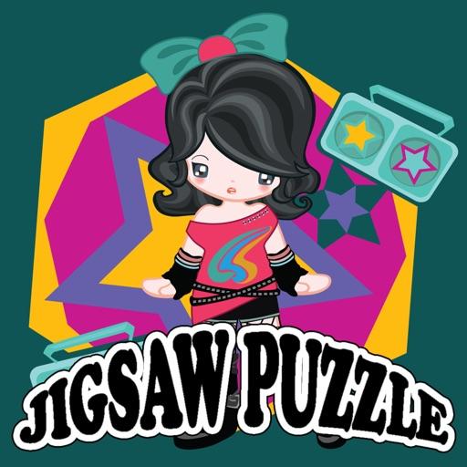 Girl Jigsaw Puzzle For kids iOS App