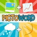 Pictoword Free: Fun 2 Pics, Guess What's the 1 Word? icon