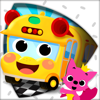 PINKFONG Car Town: ¡Canta, colorea y conduce!