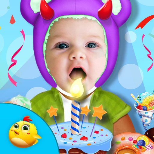 Halloween Birthday Celebration Icon