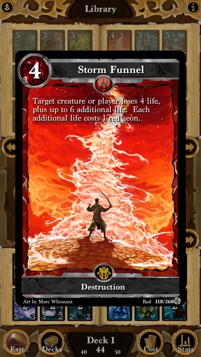 Screenshot #6 for Lost Portal CCG