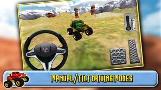 Screenshot #2 pour 3D Monster Truck Driving