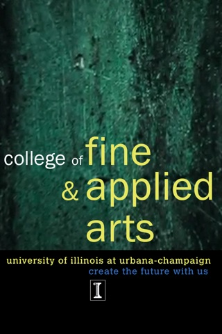 UIUC College of Fine and Applied Arts Brochure screenshot 1