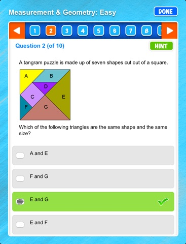 Excel NAPLAN*-style Year 5 Numeracy Tests screenshot 3