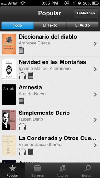 audiolibros iphone gratis español